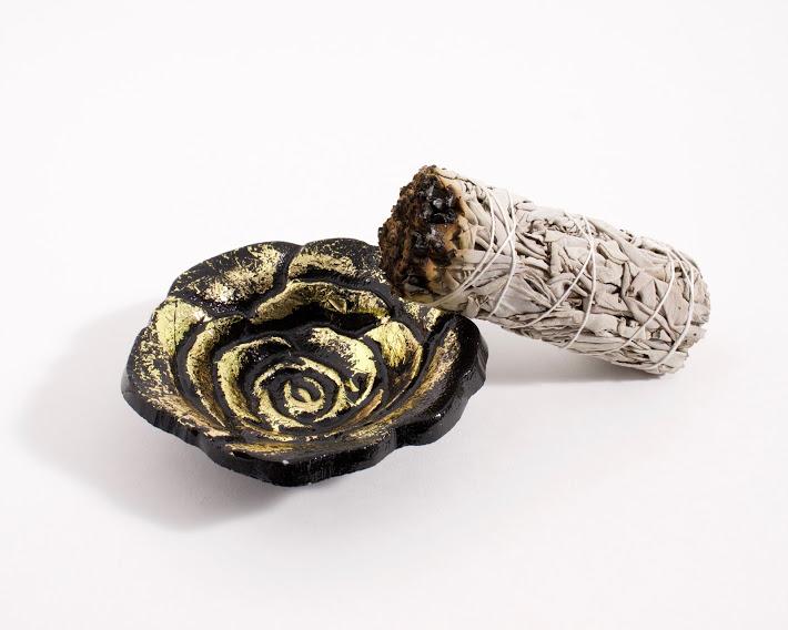 Incense Burner Bowl Sage Stick