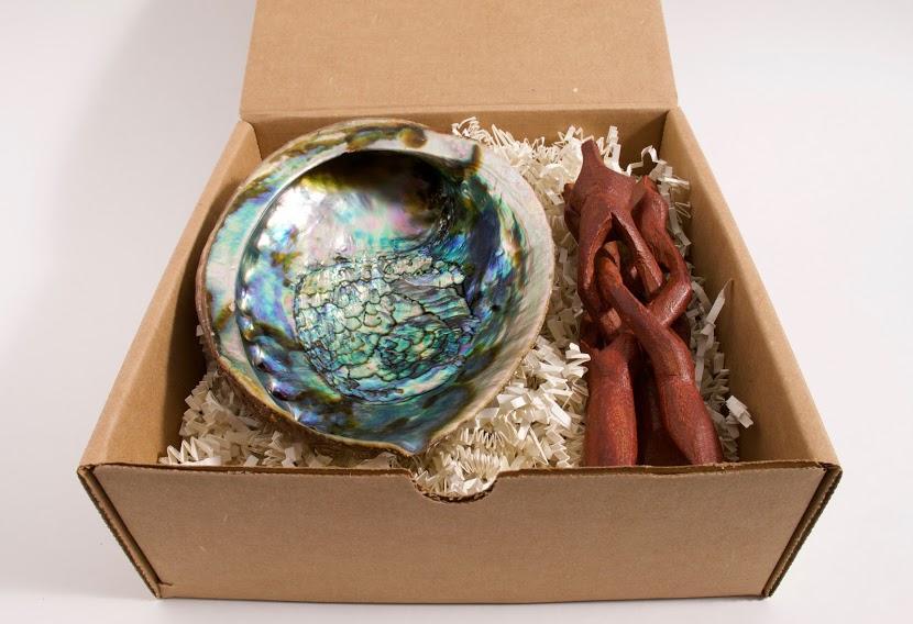 Large Abalone Shell Gift Set
