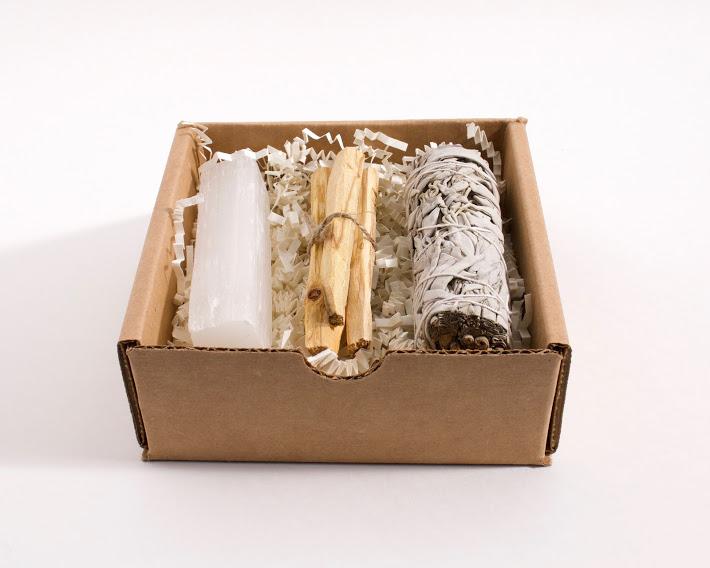 Sage Stick Palo Santo Selenite