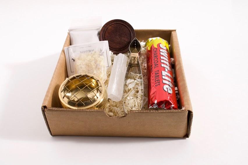Resin Burner Gift Set